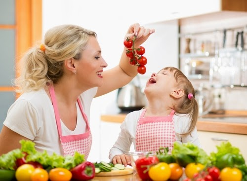 tricks to make your child love fruits and vegetables