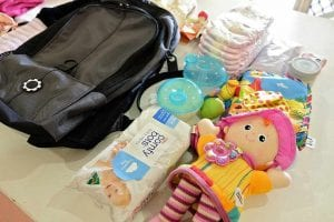 Diaper baby bag essentials